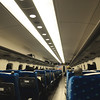 N700系新幹線Nozomi號車內一景