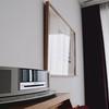 房內唯一的娛樂設施(沒錯沒有電視):Bose音響,之後特地跑到櫃檯借了3.5mm音源線接上iPhone