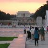 WW II and Lincoln Memorials