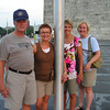 Dwaine, Vadis, Julie, Tracey at Washington Monument