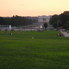 WW II Memorial and Lincoln Memorial as seen from Washington Monument