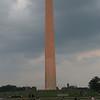 Washington Monument at dusk
