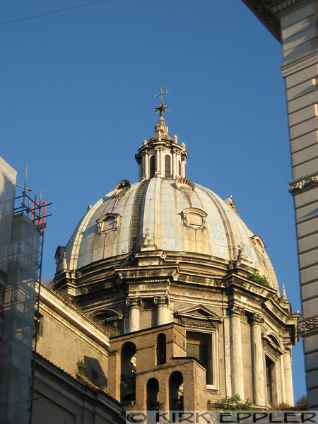 Dome of the Basilica di Sant'Andrea della Valle