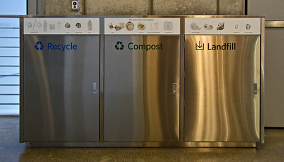 Recycle, Compost & Landfill