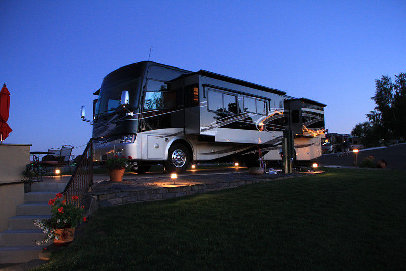 Poulson Motorcoach Resort in Montana.