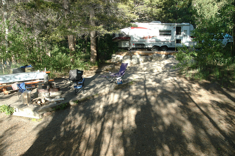 It was a great campsite on Gull lake