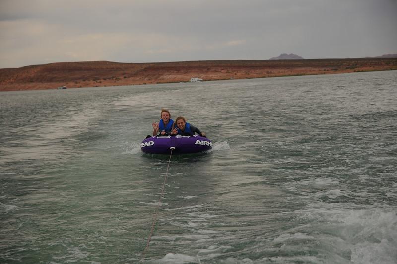 Ryan and Kate tubing