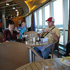 First lunch on the Westerdam just after boarding