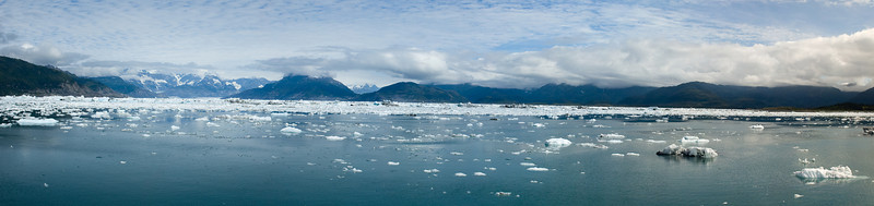 Columbia Glacier Panorama