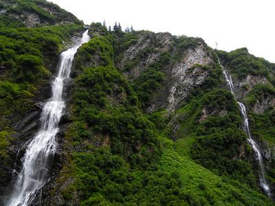 Bridal Veil Falls, Thompson Pass near Valdez, Alaska