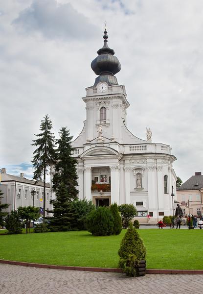 JP II boyhood parish church