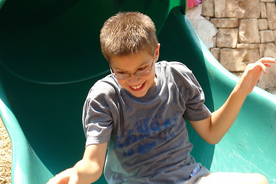 Paul at the playground - 2