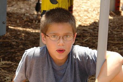 Paul at the playground - 1