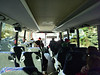 Bus ride to the Winter Olympic Park for the biathlon