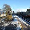 GSWR 186 is seen approaching Carrickfergus on a santa steam special 011210