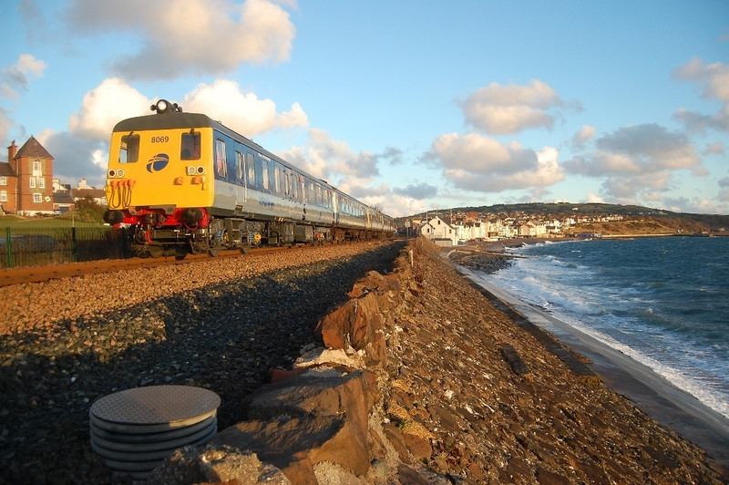 First day into service (out of the 6 days it ever worked since refurbishment) , 8069 departs Whitehead with the 0900 to Belfast Central 011210