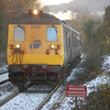 8090 approaches Jordanstown with the 0942 Belfast Central / Larne Hbr 011210