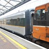 144 + EGV 7608 at Dundalk with the 1315 York Road / Inchicore transfer. Weds 17.02.10