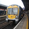 3005 at Belfast Central, 1610 to Dublin Connolly. Tues 19.01.10