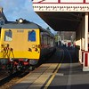 8089 + 8093 arrive at Whitehead , 1457 Larne Harbour / Belfast Central. Mon 01.03.10