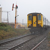 A quick run to Portrush by road to photo 454 working the branch seen approaching Dhu Varren 060910