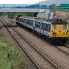 93 & 90 work the 0820 Belfast Central / Whitehead pictured at Taylors Avenue, Carrickfergus 060910