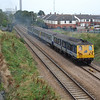 90 & 93 return to Belfast with the 0900 Whitehead / Belfast Central pictured at Taylors Avenue, Carrickfergus 060910
