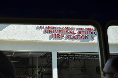 Universal Fire Station - Anyone catch the naming reference?