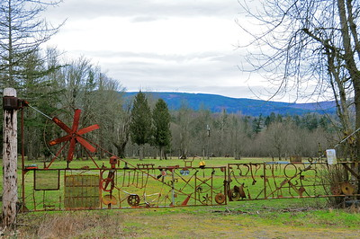 January 28, 2010 - Unusual Farm Gate