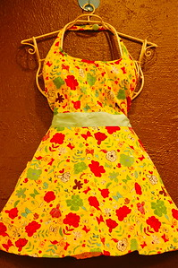 January 17, 2010 - Apron Hanging in a Downtown Shop