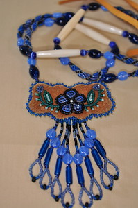April 2, 2010 - Alaskan Native made beaded necklace purchased in Fairbanks, AK.