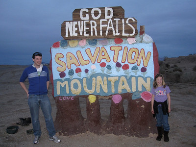 Salvation Mountain Salton Sea, CA