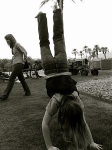 Handstands Oasis Gardens in Thermal, CA