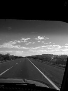 Near Yuma on I-8