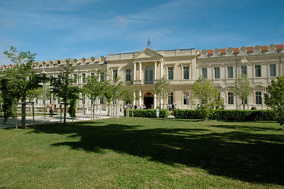 Avignon, Provence, France.  The University of Avignon, which hosted the workshop, and which used to be a charity hospital.