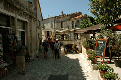 Les Baux, likely the most beautiful village in France.  Provence, France