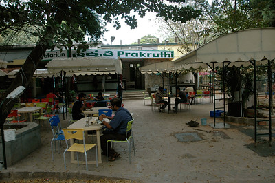 new outdoor cafe