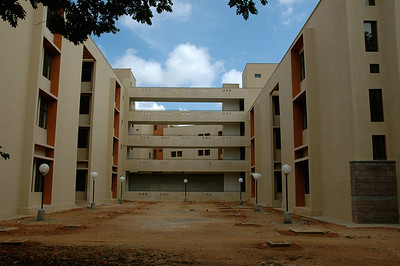 one of the new academic buildings