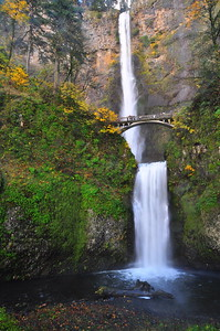 Multnoma Falls - Columbia River Gorge, Oregon.