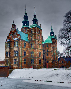 Rosenborg Castle, Copenhagen, holds the Danish crown jewels and other royal regalia