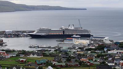 Eurodam in Torshavn, Faroe Isles