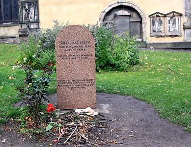 Greyfriar's Bobby Monument