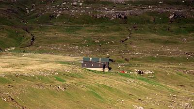 Farm on Coast, Faroe Isles