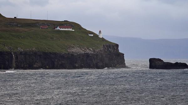 Approaching Faroe Isles