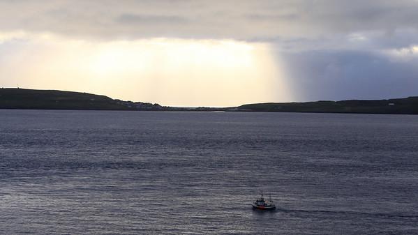Torshavn Fishing Boat Leaving