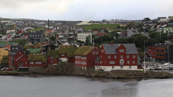 Torshavn, Old Town area, Faroe Isles