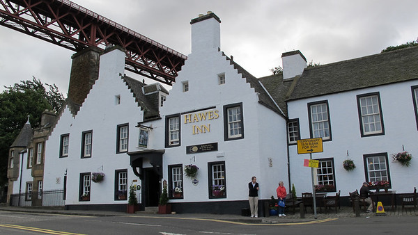 """Hawes Inn, South Queensferry, Scotland, where Robert Louis Stevenson possibly wrote part of """"Kidnapped."""""""
