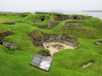 Scara Brae, Neolithic Settlement from 3180 BC, Orkney Isles