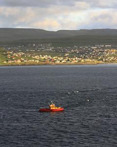 Pilot Boat at Faroes