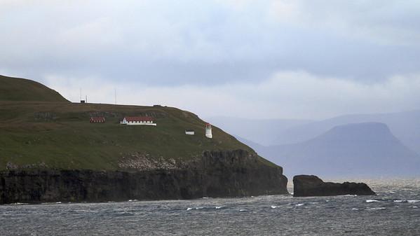 Approaching Faroes